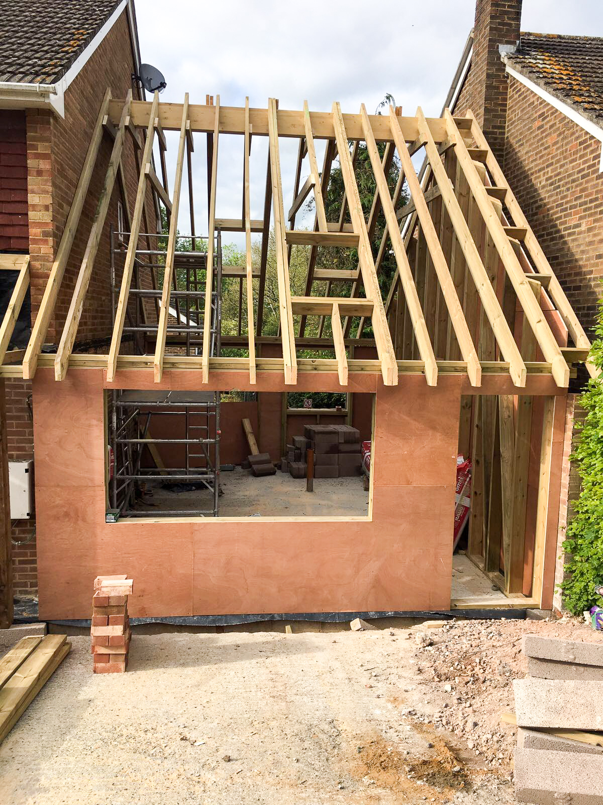 Case Study Converting A Garage And Car Port My Home Extension