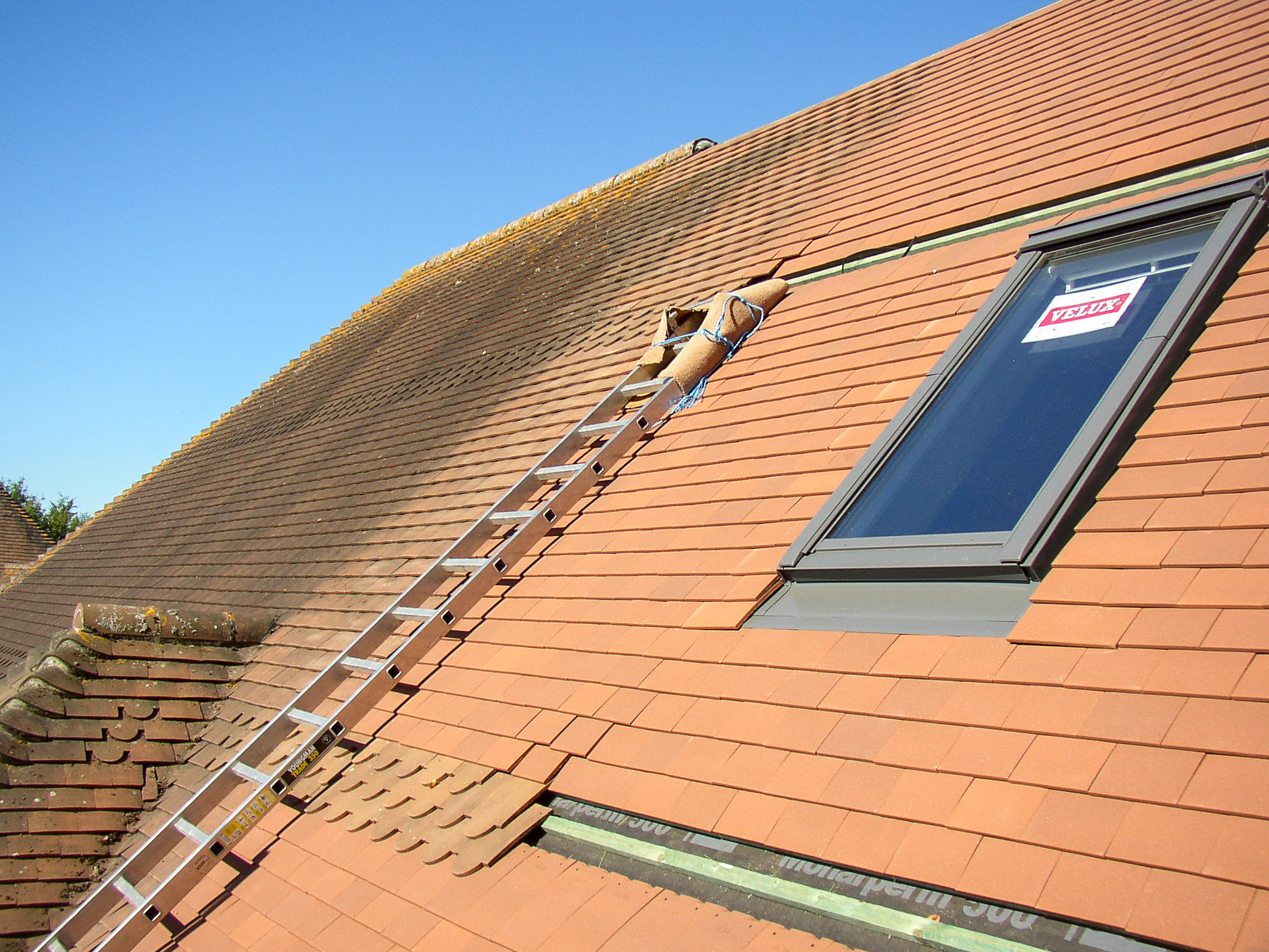 Adding Velux windows