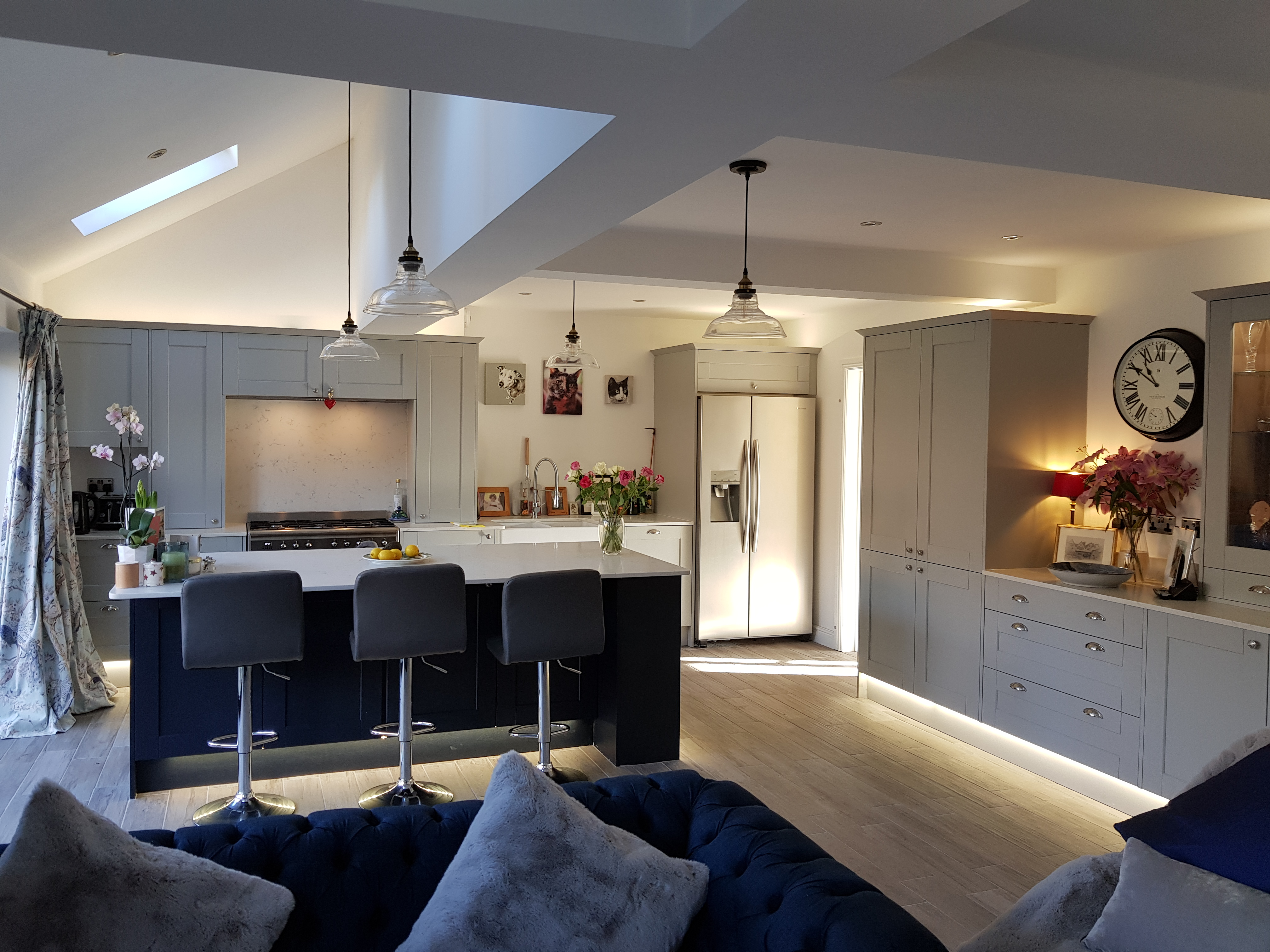 Case Study A Family Home Gains A Spacious Kitchen Diner And Cosy Snug My Home Extension