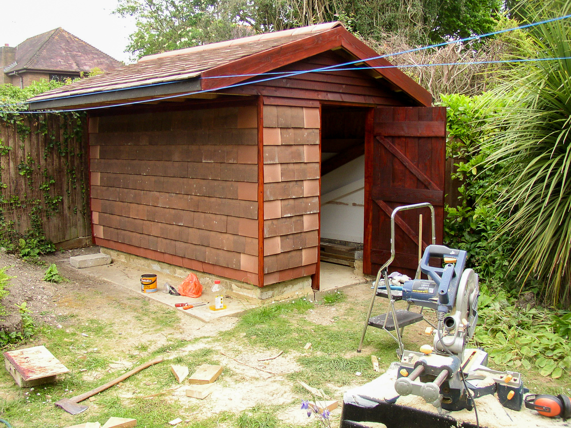 Building a Recycled Shed