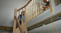 Installing stairs to a loft conversion