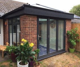 Case Study - Orangery on back of bungalow in Winchester