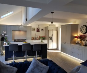 Case study: A family home gains a spacious kitchen-diner and cosy snug.