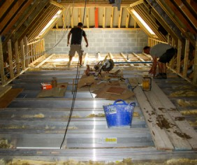 Loft conversions for family living