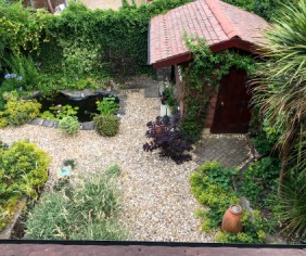New Garden Shed from Recycled Materials - a Case Study